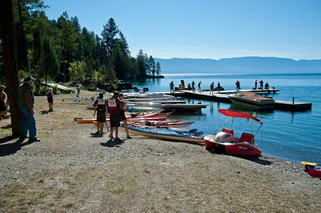 Checkpoint 2 at Flathead Lutheran Bible Camp